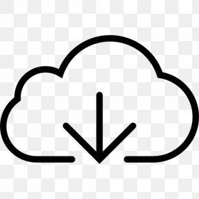 Cloud Computing - Cloud Computing Download Arrow PNG