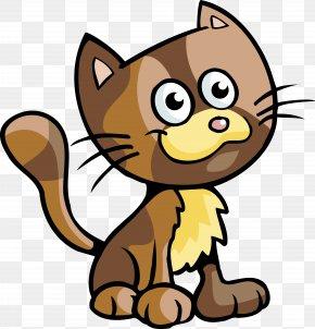Cats - Kitten Cat Cartoon Clip Art PNG