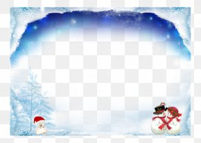 Christmas Cover - Santa Claus Christmas Day New Year Christmas Tree Clip Art PNG