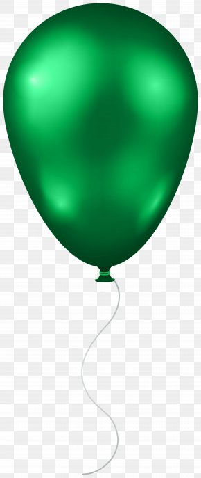 Green Balloon Transparent Clip Art Image - Green Balloon Symbol PNG