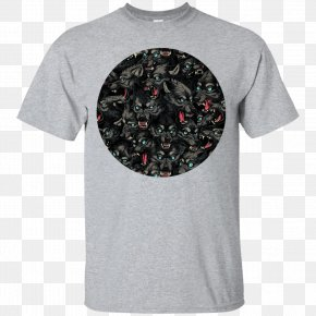 T Shirt Pattern - T-shirt Hoodie Sleeve Gildan Activewear PNG
