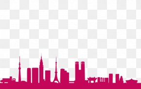 Tokyo Transparent - Tokyo Skyline Silhouette Stock Photography PNG