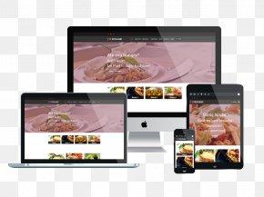 Web Design - Responsive Web Design Web Template System Restaurant PNG