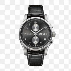 Hamilton Jazz Masters Series Watches - Fender Jazzmaster Hamilton Watch Company Chronograph Automatic Watch PNG