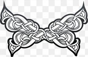 Celtic Style - Ornament Vignette Celtic Knot Clip Art PNG