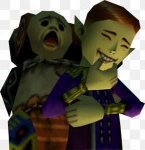 Countdown Font Design - The Legend Of Zelda: Majora's Mask Link Happy Mask Salesman The Legend Of Zelda: Breath Of The Wild PNG