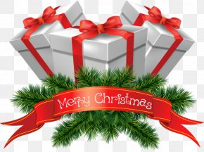 Transparent Merry Christmas Presents Clipart - Christmas Icon Clip Art PNG