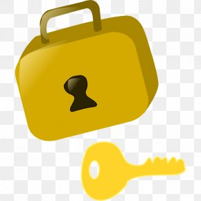 A Picture Of A Key - Lock Skeleton Key Clip Art PNG