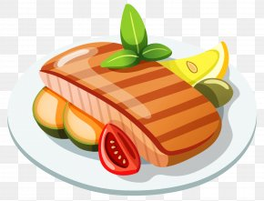 Grilled Steak Clipart - Food Icon PNG