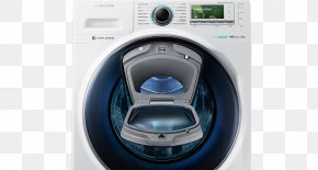 Home Appliance - Washing Machines Samsung Home Appliance Laundry PNG