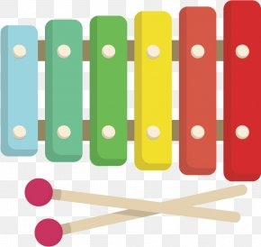 Metallophone Musical Instrument - Xylophone Glockenspiel Idiophone Musical Instrument Metallophone PNG