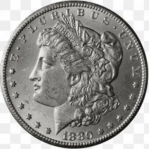 Coin - Dollar Coin Morgan Dollar United States Dollar Quarter PNG