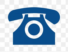 Blue Call Icon - Mobile Phones Telephone Call Email PNG