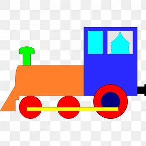 Toy Train - Train Rail Transport Passenger Car Railroad Car Clip Art PNG