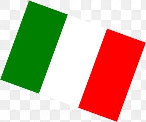 Italy Flag - Flag Of Italy Italian Cuisine Clip Art PNG