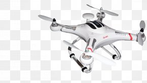 Drone Transparent Image - Unmanned Aerial Vehicle Quadcopter Radio Control Global Positioning System Radio-controlled Helicopter PNG