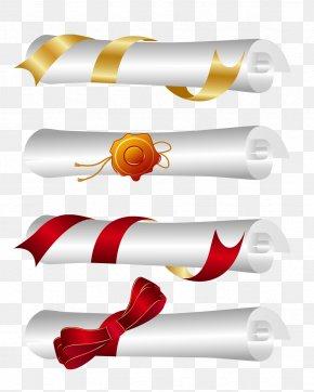Diploma - Euclidean Vector Paper Graduation Ceremony Clip Art PNG