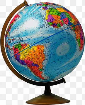 Globe - Geography National Geographic Bee Scale Cartography Map PNG