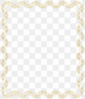 Border Frame Deco Gold Clip Art - Area Placemat Pattern PNG