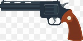 Military Weapons - Revolver Weapon Firearm Handgun Bullet PNG