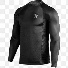 T-shirt - T-shirt Rash Guard Venum Brazilian Jiu-jitsu Skin Rash PNG
