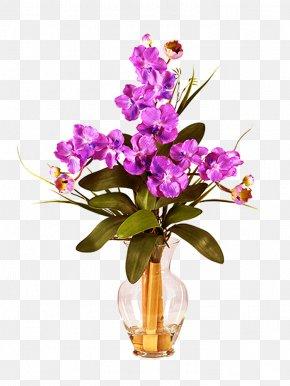 Vase - Designer Artificial Flower Floristry PNG