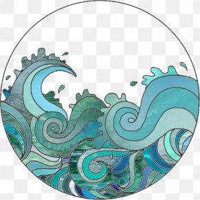 Summer Illustration Wave - The Great Wave Off Kanagawa Clip Art Drawing Wind Wave PNG