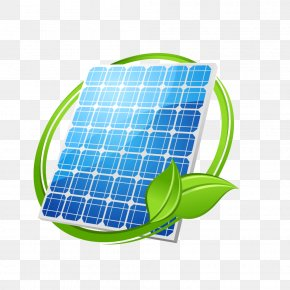 Green Leaves Ring Solar Energy PNG