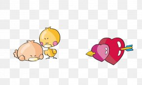 Vector Heart - Mammal Desktop Wallpaper Yellow Illustration PNG