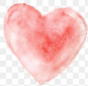 Watercolor Heart - Watercolor Painting Heart PNG