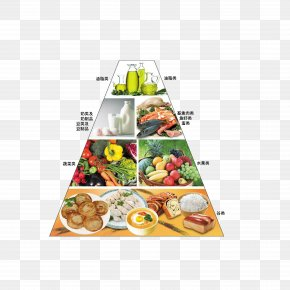 Chinese People Eat Pyramid - Nutrient Food Pyramid Eating Nutrition Diet PNG