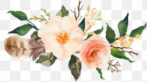 Bouquet Rosa Rubiginosa - Bouquet Of Flowers Drawing PNG