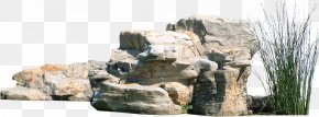 Rock Hill - Garden 3D Computer Graphics PNG