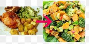 Broccoli - Vegetarian Cuisine Broccoli Slaw Sweet Potato Salad Fattoush Dish PNG