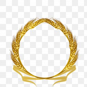 Golden Wheat - Wheat Ear Clip Art PNG
