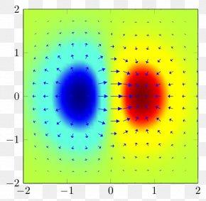 Gradient Arrows - Circle Area Symmetry Point Pattern PNG
