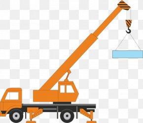 Construction Dog Cliparts - Crane Free Content Heavy Equipment Clip Art PNG