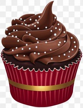Muffin Brown - Cupcake Baking Cup Food Cake Buttercream PNG