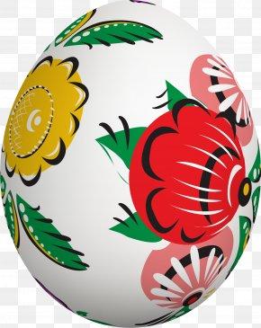 Hand Painted White Eggs - White Gratis Easter Egg PNG