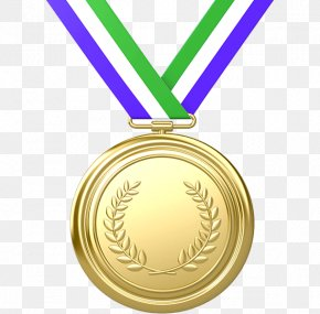 Medal - Olympic Games Gold Medal Olympic Medal Clip Art PNG
