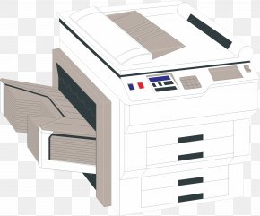 Cartoon Printer - Printer System Resource Computer File PNG