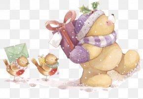 Christmas - Ded Moroz New Year Tree Christmas Clip Art PNG