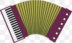 Vector Accordion - Diatonic Button Accordion Piano Accordion Musical Instrument PNG