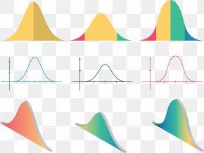 Vector Illustration Bell Curve - Euclidean Vector Curve Line PNG
