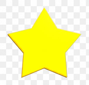Symbol Logo - Favorite Icon Five Point Icon Gold Icon PNG