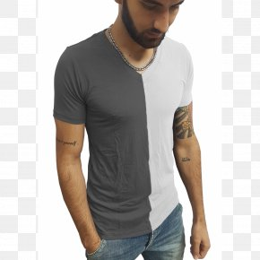 T-shirt - T-shirt Blouse Sleeve Collar PNG
