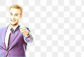 Business Happy - Businessperson Gesture Smile Finger Happy PNG