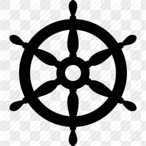 Sea, Ship Wheels Icon Png - Ship's Wheel Helmsman Rudder PNG