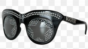 Diamond-studded Sunglasses - Goggles Sunglasses Eyewear Funk PNG