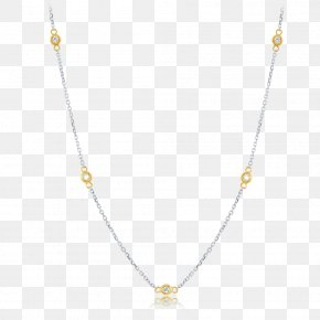 Necklace - Necklace Jewellery Gold Chain Diamond PNG
